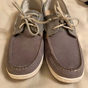 Ladies leather Sperry shoes
